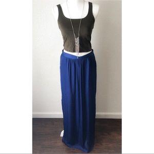 New TART Tarot Women's Blue Maxi Skirt Size M
